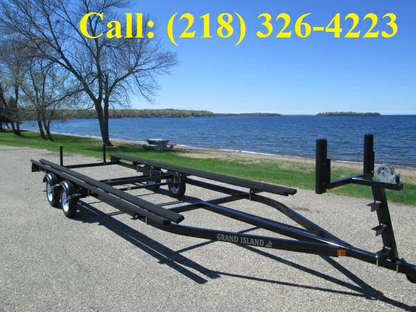 Ft To Ft Dual Axle Bunk Trailer TM Marine - Picnic table boat for sale