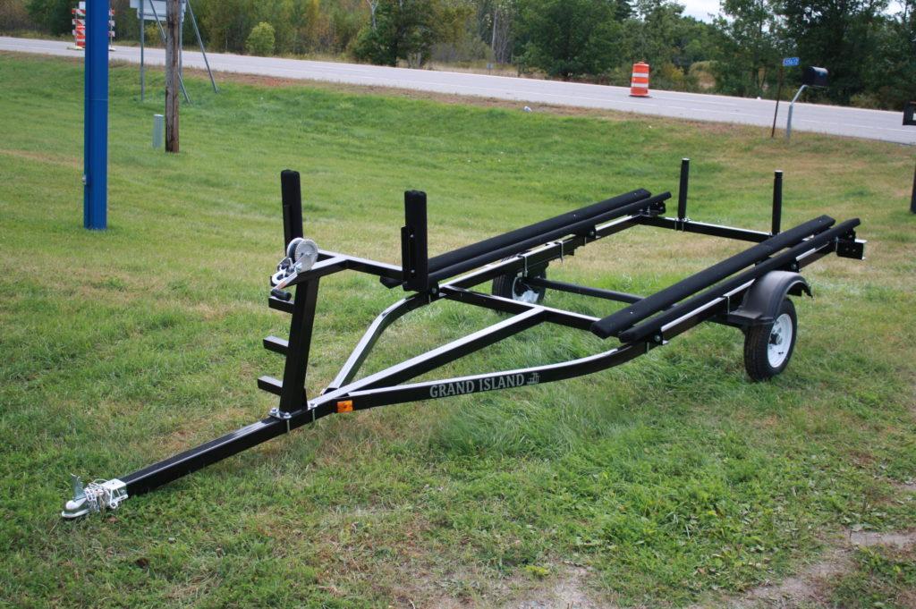 16 Single Axle Trailer : Ft single axle bunk trailer t m marine